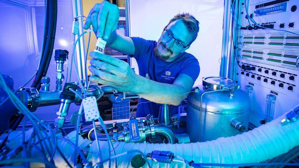 Die TU Chemnitz forscht bereits an der Wasserstofftechnologie.