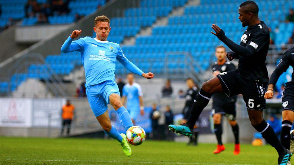 Der CFC um Erik Tallig spielt 1:1 gegen Uerdingen.