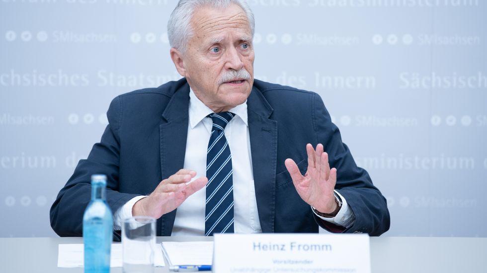 Heinz Fromm, Mitglied Unabhängige Untersuchungskommission Spezialeinheiten