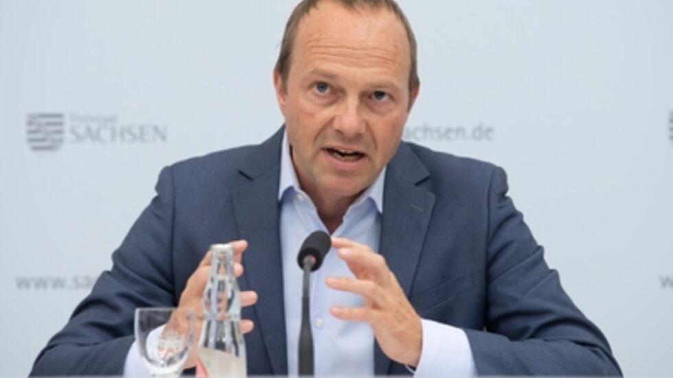Sachsen Umweltminister Wolfram Günther