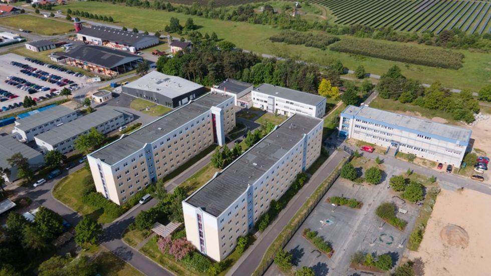Das Areal der Hochschule der Sächsischen Polizei.