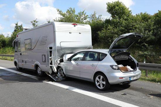 Unfall auf der A4 zwischen Siebenlehn und Dreieck Nossen
