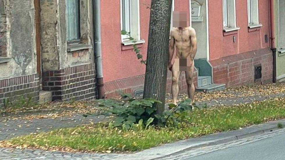 Der nackte Mann von Auerbach.