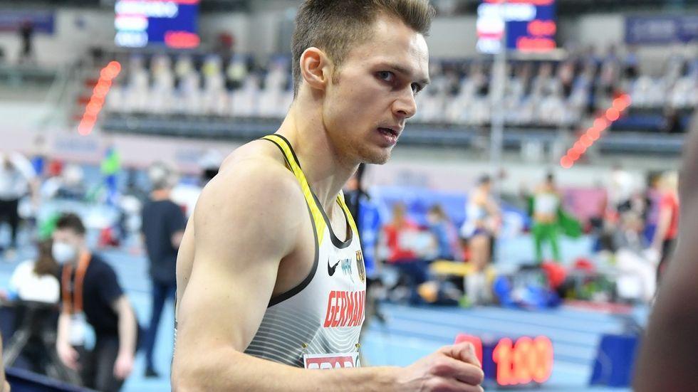 Nach der Hallen-EM ist Marvin Schlegel nun so wie seine Vereinskollegin Corinna Schwab mit der Staffel im 4x400 Meter Lauf gefordert.