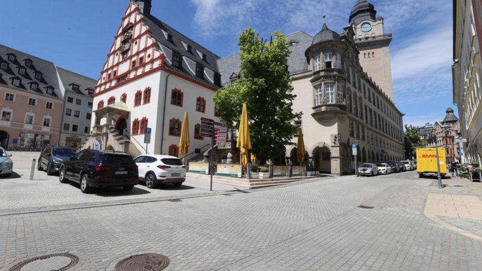 Das Plauener Rathaus