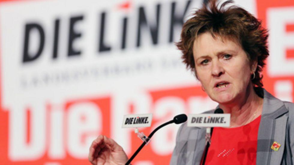 Sabine Zimmermann fordert finanzielle Hilfe von Bund und Ländern. © dpa