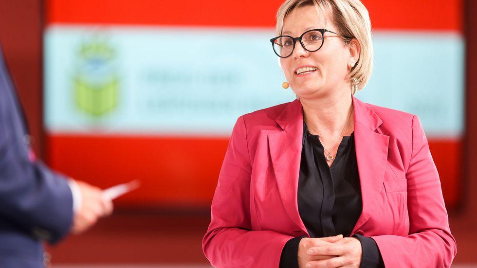 Die Kulturministerin bei einer Preisverleihung der Leipziger Buchmesse (Archivfoto)