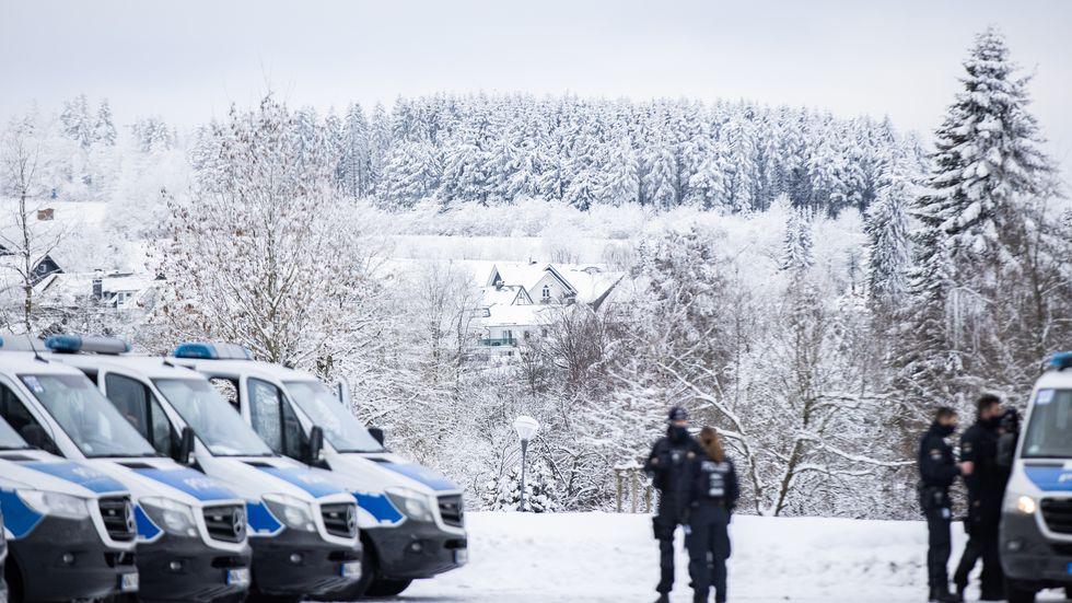 Polizeieinsatz Wintersportregion