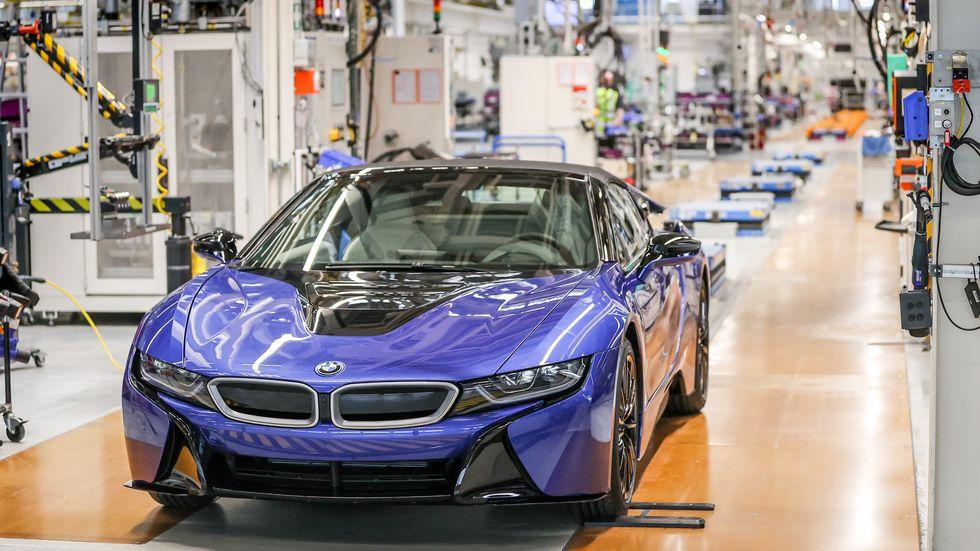 BMW im Leipziger Werk