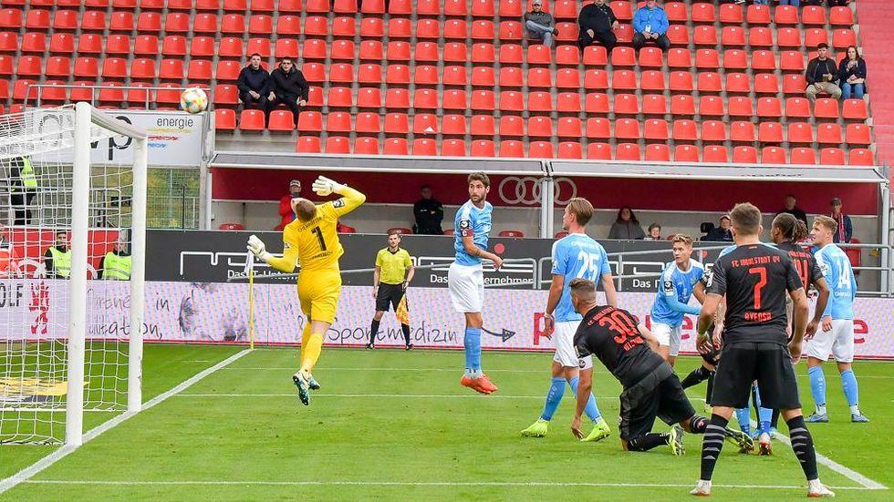 Der CFC erkämpft sich in Ingolstadt ein 1:1.