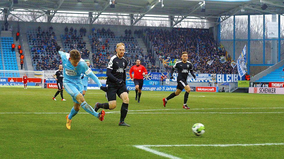 Der CFC schlägt Jena mit 1:0 (Foto: imago/Kruczynski)