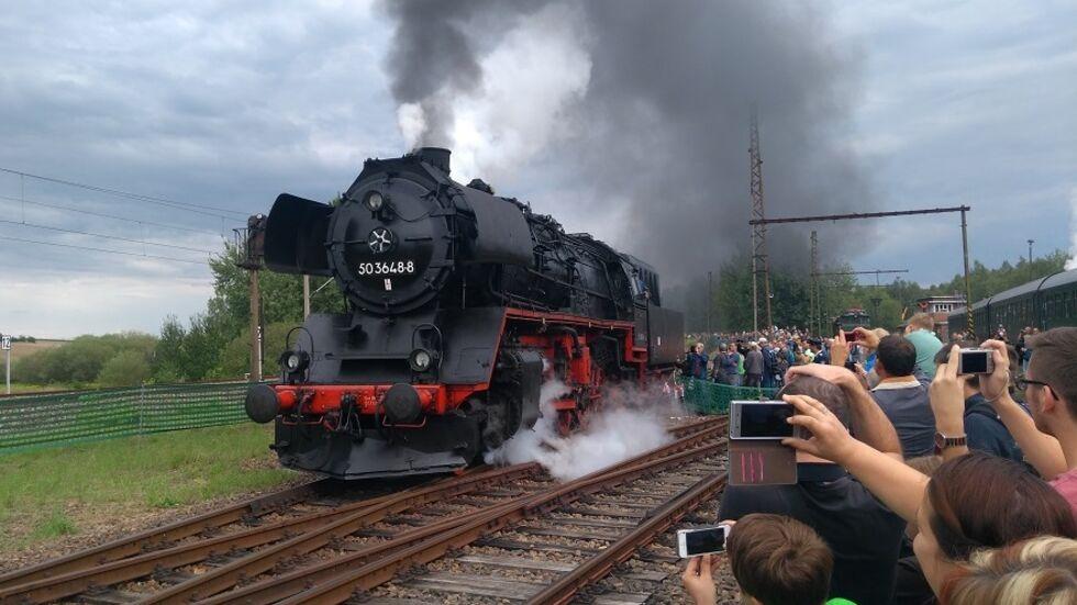 Das Heizhausfest lockte in den letzten Jahren immer tausende Lokfans ins Eisenbahnmuseum. (Foto: Maximilian Thiele)