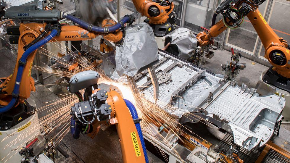 Produktion des ID.3 im VW-Werk Zwickau-Mosel (Archivfoto)