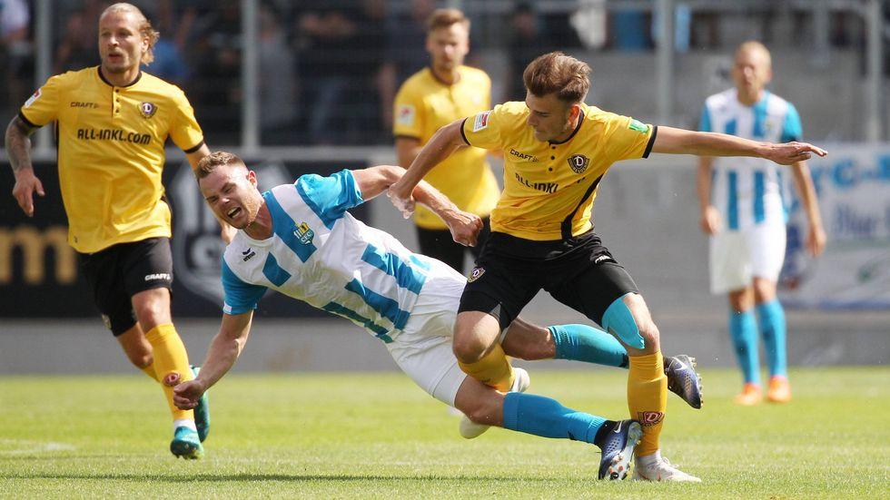 Dynamo Dresden hat das Testspiel beim Chemnitzer FC mit 1:0 gewonnen.